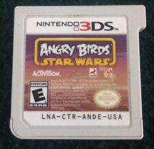Nintendo 3DS Video Game Angry Birds Star Wars