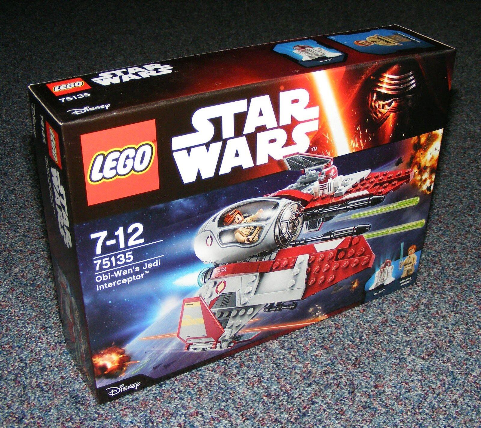 STAR WARS LEGO 75135 OBI-WAN'S JEDI INTERCEPTOR BRAND BRAND BRAND NEW SEALED 5d864c