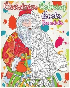 Christmas Coloring Books For Adults Designs