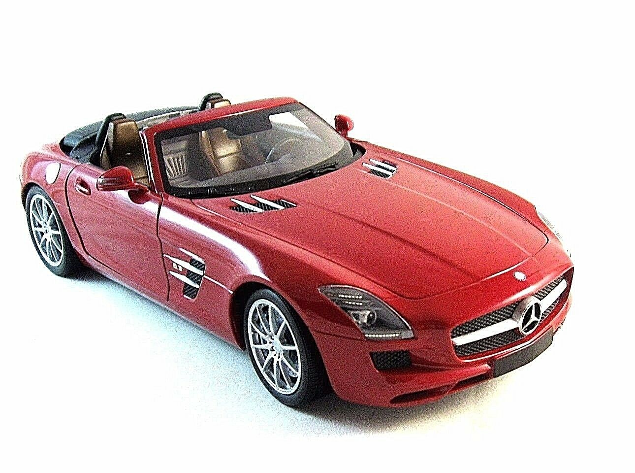Mercedes Benz Sls Roadster 2011 Minichamps 1 18 Diecast Collector's Coche Model