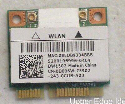 Dell Wireless Half Wifi PCI-E Card 802.11 a//g//n AR5B95 D006W DW1502