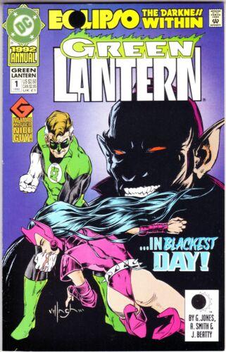 Green Lantern /'92 Annual 1 VF D2