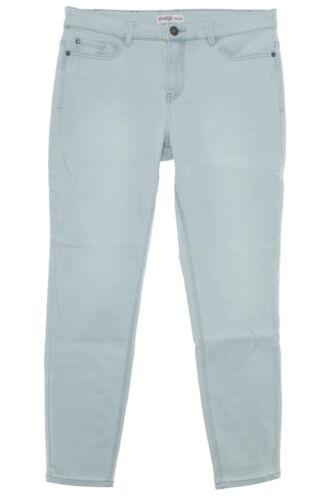 sheego Jeans Die Schmale Skinny Power Stretch Denim Damen Hose Pants Kurzgröße
