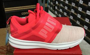 Puma Enzo Strap Nautical Women's Running Sneakers Plasma White 190488 01 Sz6-9 L