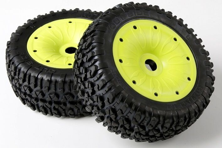 Rovan LT losi 5t  Cross Country Tire Ground Tire Assembly 87001 one pair  compra meglio