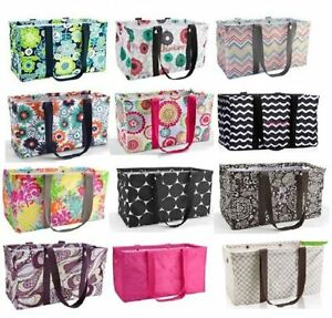 Thirty one Large Utility Tote Bag 31 gift beach laundry storage ...
