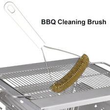 KM/_ Home BBQ Grill Grate Cleaner Barbecue Oven Scraper Scrubber Bottle Opener To