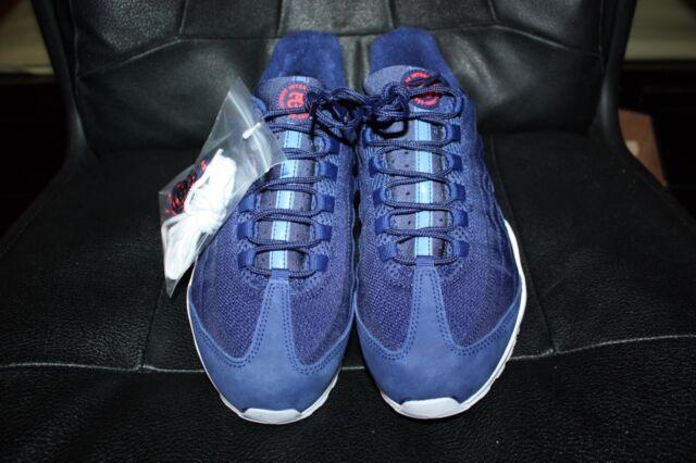 promo code 07d8b 2b5a3 NIKE AIR MAX 95   STUSSY LOYAL BLUE-LOYAL BLUE-WHITE SZ 10 RARE