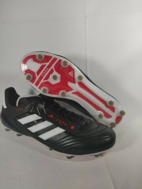 Adidas Copa 17.1 FG Soccer Cleats Black White K Leather BA8515 Men's Size 13