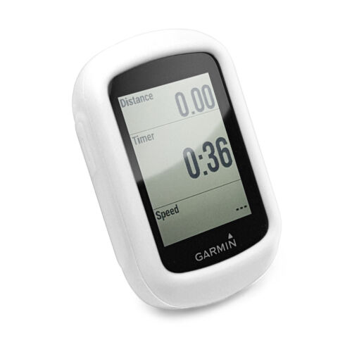 TUFF LUV Silicone GPS Protective case for Garmin Edge 130 White