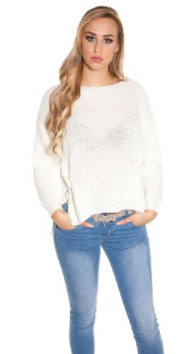 Koucla Grobstrick High//Low Pullover Strickpullover