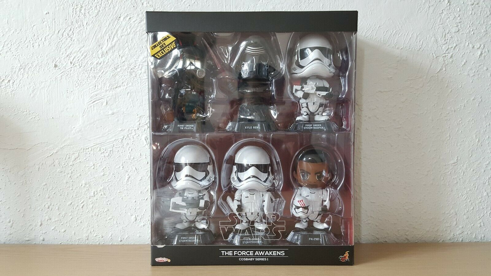 Hot Toys Cosbaby  Star Wars - The Force Awakens Series 1 Collectible Set