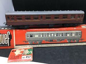 JOUEF-HO-457-WAGON-Postal-royal-mail-1ere-classe-british-railways-en-boite