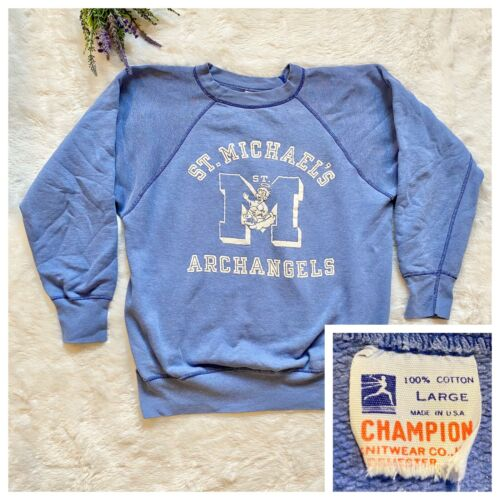 Champion Vintage 1950s Crewneck Sweatshirt Size La