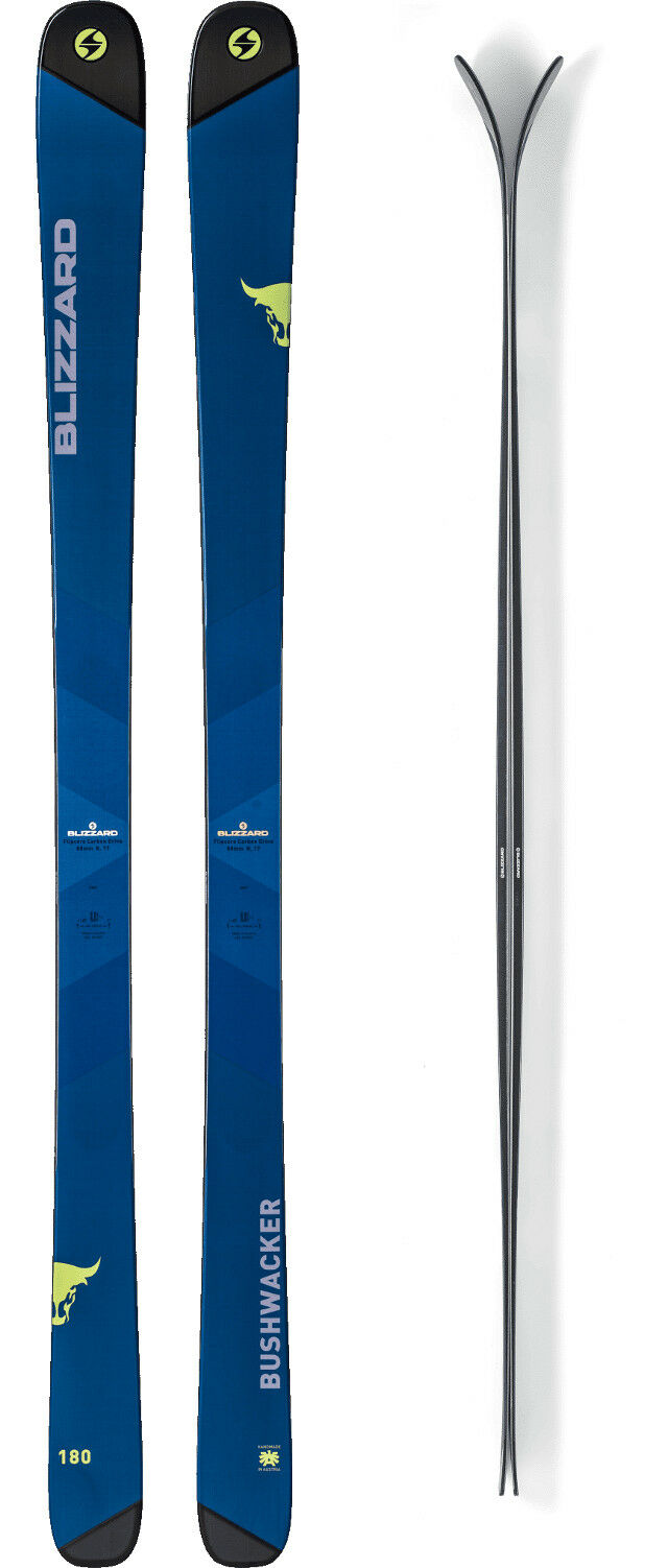 Blizzard autobushwacker Piatto Set da Sci 180 cm gratuitoride Sci Uomo tuttimountain J18