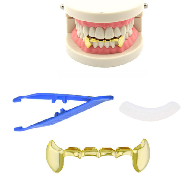 Hip Hop 14K Gold Plated Mouth Teeth Grills Grillz Bottom Lower