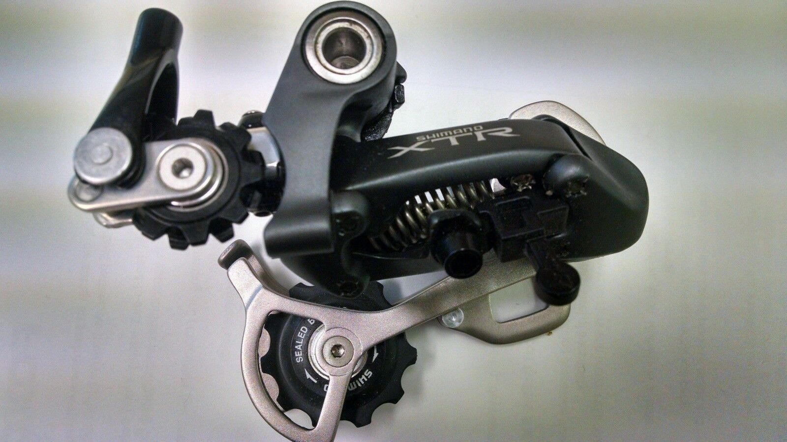 Shimano XTR M951 Rapid Rise Rear Derailleur, 8-speed 9-speed, RD-M951-GS Midcage