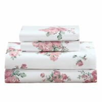 Pink Rose Bed Sheet Set