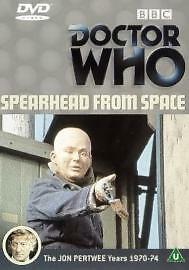 1 of 1 - Doctor Who - Spearhead From Space (DVD, 2001)