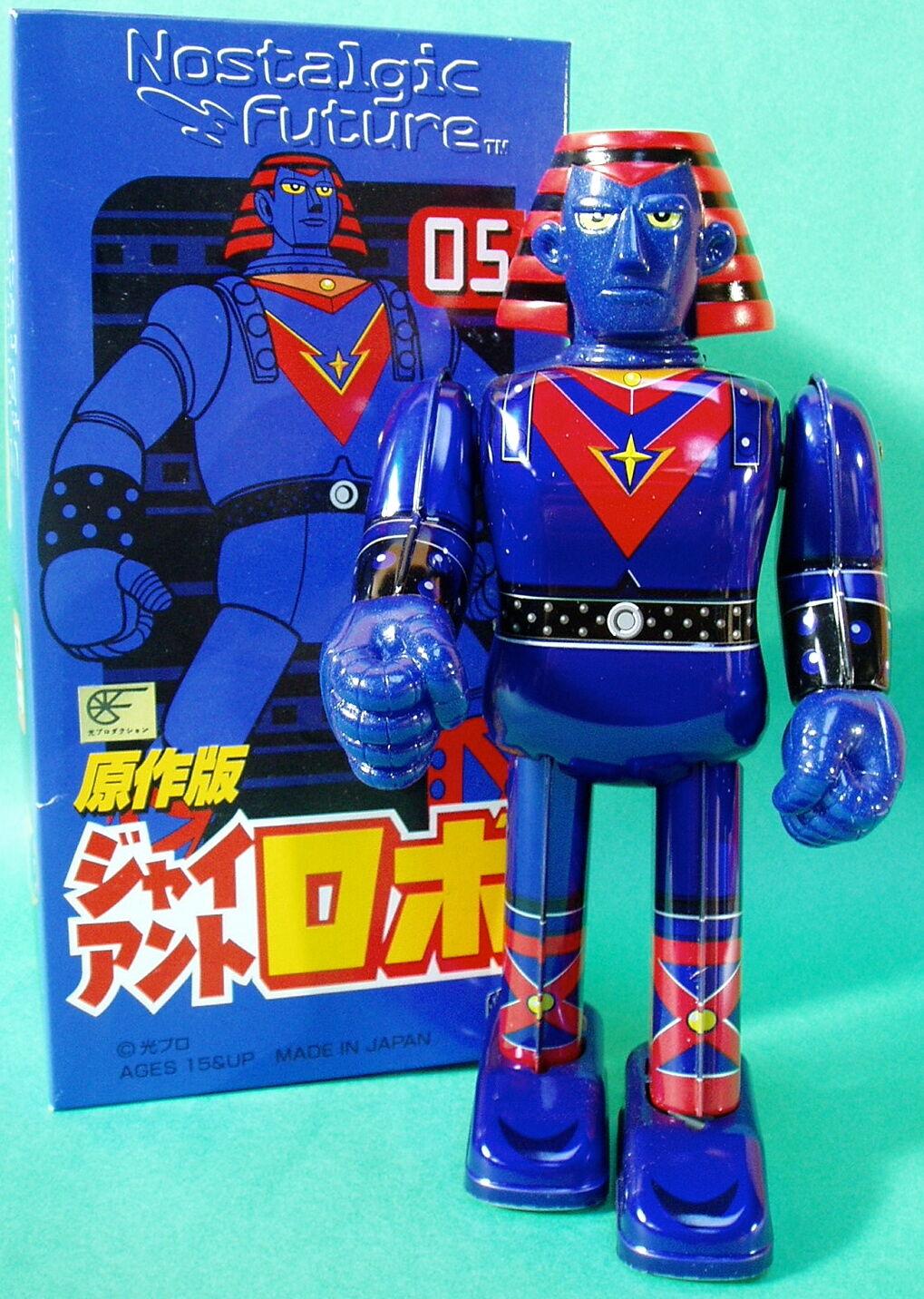 Medicom Blech Aufziehen Riese Robo Roboter T.V.Version W U Mint Original