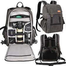 New Packsack Backpack Professional Digital DSLR SLR Camera Camcorder Bag Canvas