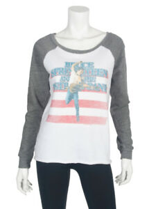 Trunk Born Women's Bruce The Ltd Usa Springsteen Raglan Sweatshirt In Br6BqxY