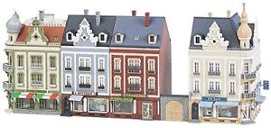 Faller-FA-232385House-Bed-Hoven-town-Road-Accessories-for-Model-Railway-Mod