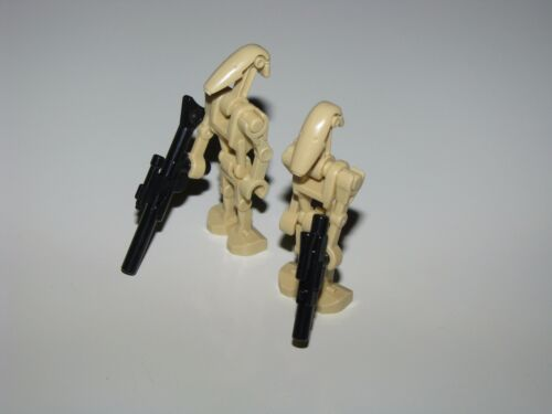 Lego Star Wars Trade Federation Battle Droid LOT with 2 Battle Droids