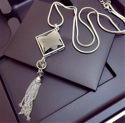 Elegance Necklace Long Chain Necklace Tassel Sweater Necklace Women accessories