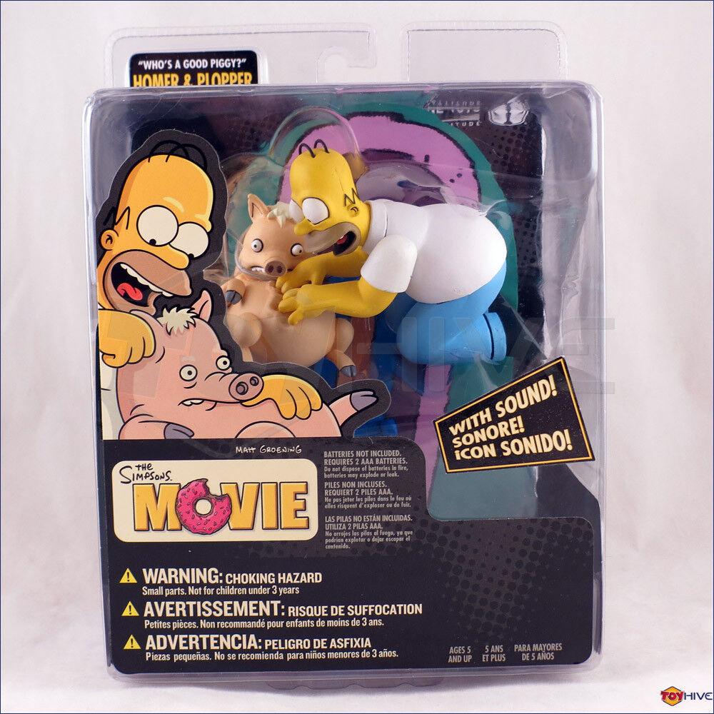 The Simpsons Movie Homer & Plopper