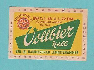 altes BE VEB (B) Hammerbräu Lemnitzhammer 3