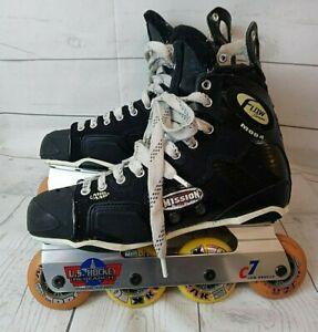 Mission-Flow-Series-Mod-4-Inline-Roller-Hockey-Skates-Rollerblades-Size-8-5