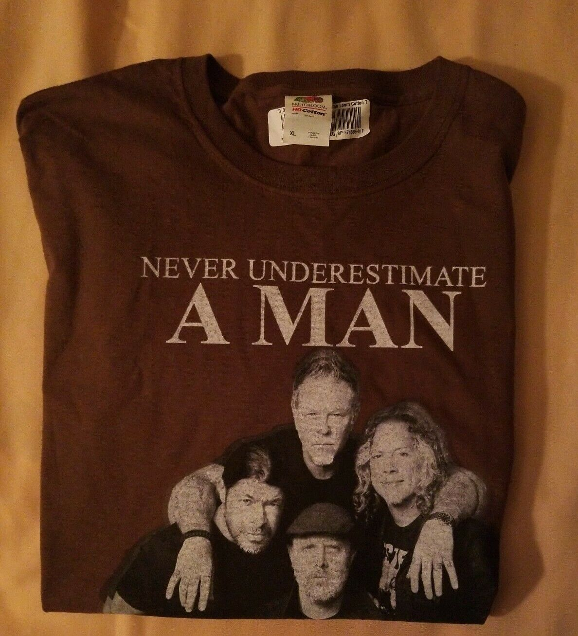 Never Underestimate MAN Who Listens to Metallica … - image 11