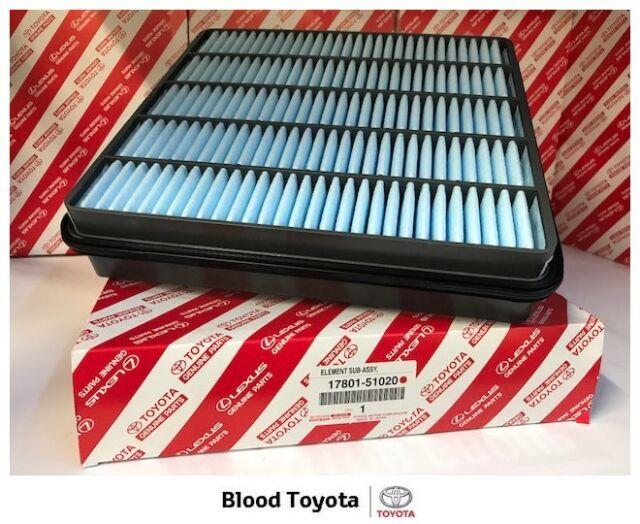 Genuine Toyota Air Filter 17801-51020 Landcruiser 200 VDJ200 1VDFTV V8 Diesel