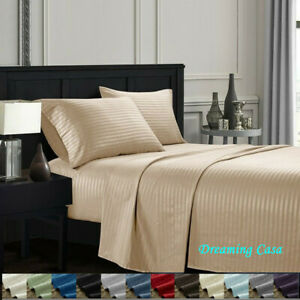 Egyptian-Comfort-4-Piece-Deep-Pocket-1800-Count-Hotel-Luxury-Bed-Sheet-Set-H4