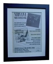 NIRVANA+Nevermind+POSTER+AD+ORIGINAL 1992+TOP QUALITY FRAMED+EXPRESS GLOBAL SHIP