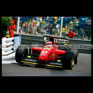 #pha.014120 Photo FERRARI 412 T1 JEAN ALESI GP F1 1994 MONACO Car Auto hqUJ2snZ-09094002-533899654