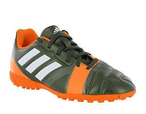 0fbf7c8c882 Adidas Nitrocharge 3.0 TRX TF J Boys Kids Lace Up Astro Football ...