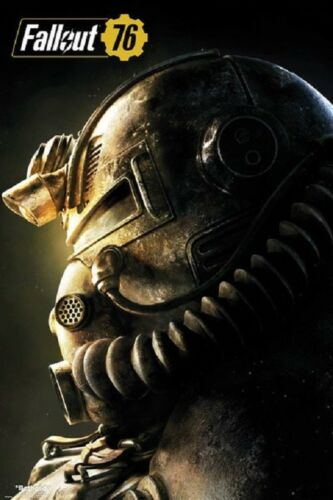 T51b POWER ARMOR POSTER SIZE 24x36 FALLOUT 76