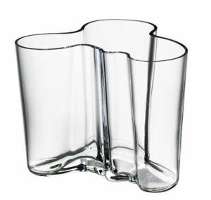 Iittala Glass Alvar Aalto Vase Collection 160 Mm Finland Clear Glass Ebay