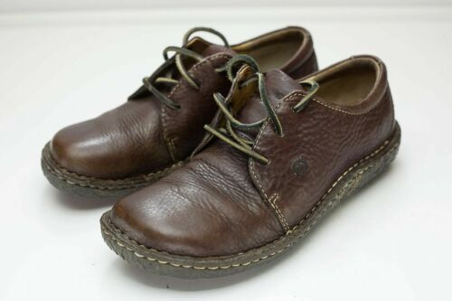 Born 8 Brown Lace Up Women's Shoe EU 39
