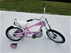 Pink Schwinn Stingray Chopper Muscle Bike..VG Cond