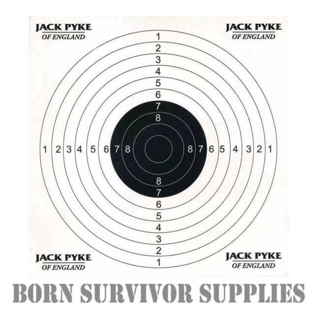 50 x CARD PAPER TARGETS Airgun Rifle Pistol 22 177 Target Shooting Air Gun 14cm