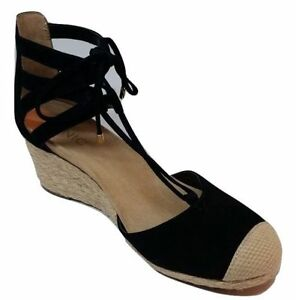 183298d898f9 Womens Vionic Size 8.5 BLACK Orthaheel Aruba Calypso Wedge Sandals ...