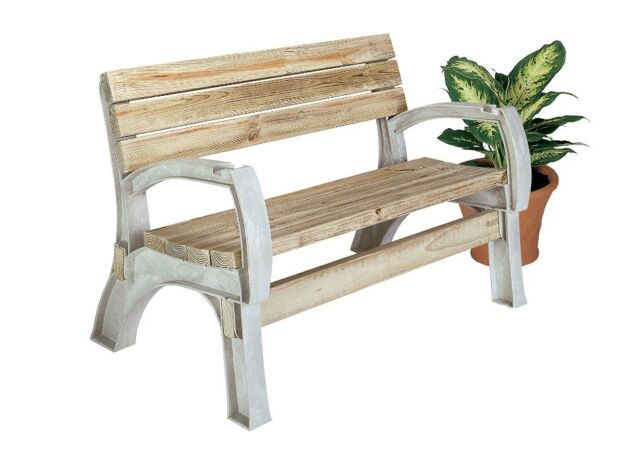 Patio Custom Any Size Chair Bench Ends Kit Arms Legs Garden Banquette Natural