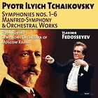 Tchaikovsky: Symphonies Nos. 1-6; Manfred Symphony; Orchestral Works (CD, Aug-2014, 6 Discs, Relief)