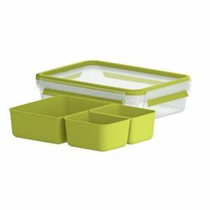 EMSA-CLIP-amp-GO-SNACKBOX-1-2L-m-Einsaetzen-Brotbox-Lunchbox-Box-Aufbewahrung-NEU