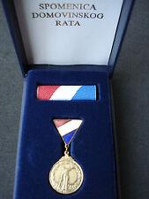 Croatia army, small Testimonial of Homeland War 1992; Spomenica, order, medal