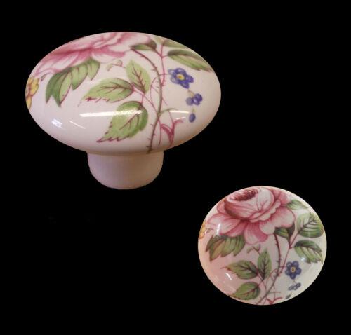 White Porcelain Cupboard Door Knobs Michelle Rose Design Pack Of 5,10,20,50
