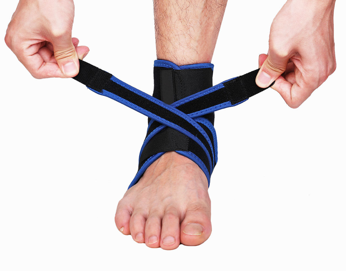Ankle Brace Ankle Support Socking Compression Sport Injury Protective Guard US D 6